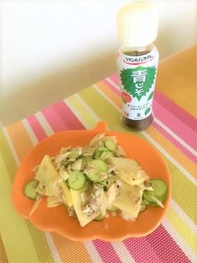 旬の筍と鯖缶の簡単サラダ☆