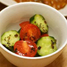 コロコロ♡プチトマトときゅうりのサラダ