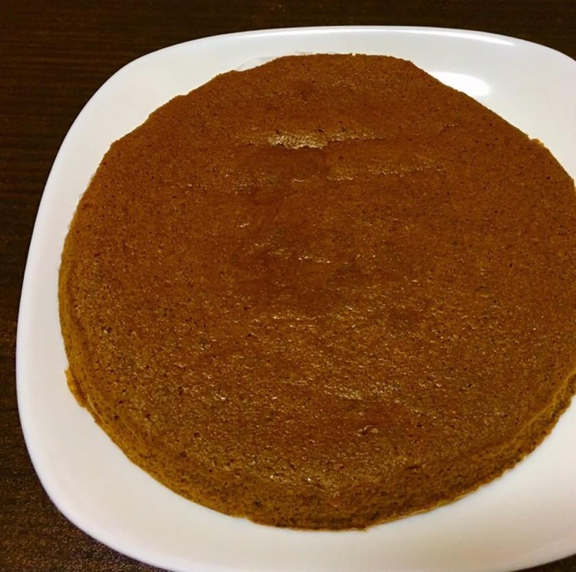 糖質オフ*大豆粉のココアスポンジ