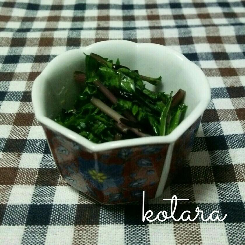 水菜と塩昆布の漬物