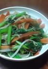 くせになるうま塩で手軽に野菜炒め