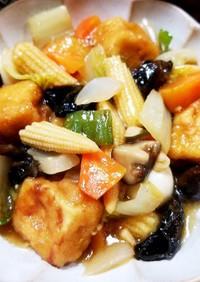 八宝菜 高野豆腐の唐揚げアレンジレシピ