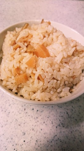 【母の味】筍の混ぜご飯【覚書】