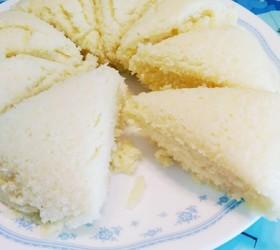 レンジで簡単!米粉のふわ♪もち♪蒸しパン