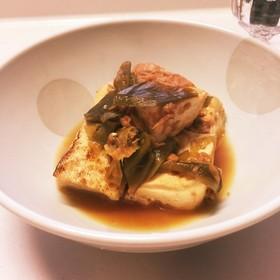 ツナと焼豆腐の煮物♪
