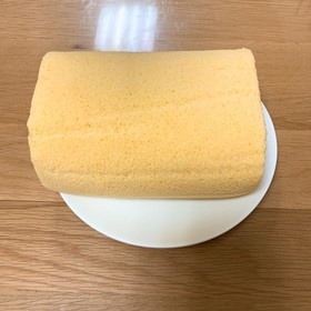 大豆粉のロールケーキ