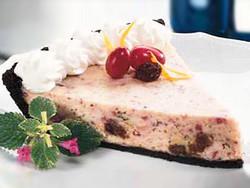 レーズン クランベリー チーズケーキ