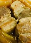 圧力鍋で豚の角煮