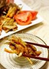 豚肉とごぼうの唐揚げ