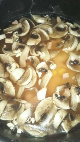 マッシュルーム飯(血管ダイエット1349