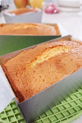 アーモンド風味のミニパウンドケーキ**.