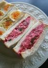 ビーツ ポテトサラダ サンドイッチ