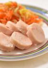 手作りサラダチキンと春野菜コールスロー