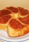 フライパンでパン ココナッツクリームパン