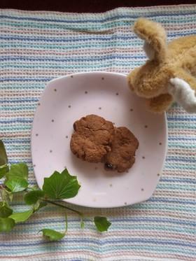 「ココアクランベリークッキー」米粉使用