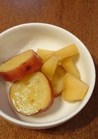 簡単作りおき!さつまいものりんご煮