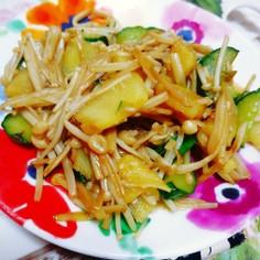 生姜と野菜の焼肉風味炒め。