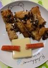 鮭ハラス卵豆腐かにかまプレート