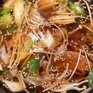 ネギの香ばしつけ麺 素麺