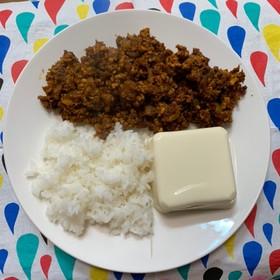 キーマカレー(ライス&豆腐)