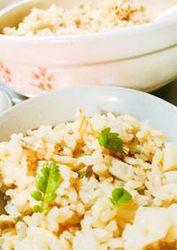 土鍋で本格プロの味!筍の炊き込みごはん♩