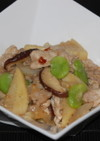 春野菜と豚しゃぶしゃぶ肉のピリ辛みそ炒め