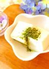 抹茶塩豆腐