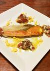 時鮭のソテーケッパーソース
