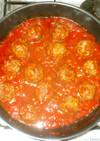 ミートボール♪簡単基本ケチャップトマト煮