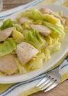 鶏肉とキャベツの塩こうじレモン炒め☀