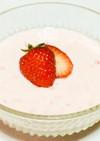 材料6つで簡単苺のフルーチェ風デザート