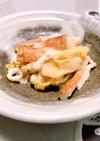 白菜と竹輪の煮物