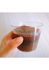 【低糖質低カロリー】チョコプリン