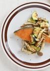 カレー風味♪鮭と野菜のソテー☆
