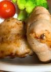 豚肉のチーズ焼き