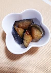 常備菜 | 茄子の揚げ炒め
