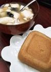 米粉とそば粉のグルテンフリー蒸しパン