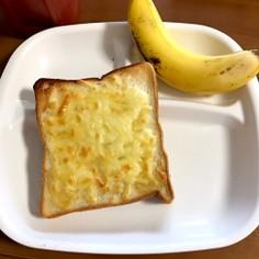 チーズハチミツ 食パン