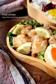 お弁当にも!鶏もも肉の塩マヨ唐揚げの写真