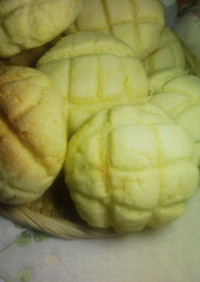 チーズ味メロンパン(ふわ×②柔らかい!)