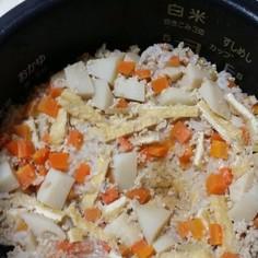 タケノコご飯を作りました