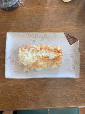 ❀卵白でベーコンとチーズ卵焼き❀