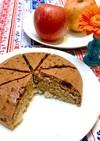 林檎のグルテンフリー炊飯器ケーキ