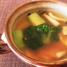簡単!洋風スープ チーズカレー風味