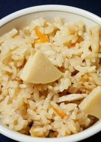 筍の煮物のリメイク*筍の炊き込みご飯