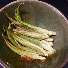 イタドリの新芽 和え物 わさび醤油