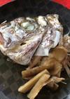 鯛のあたまの煮付
