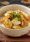 YOMEちゃんのささ身麻婆豆腐丼