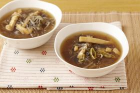 YOMEちゃんのきつね風春雨スープ