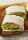ツナとレタスのマスタードサンドイッチ